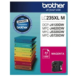 Brother LC235XL M Magenta High Yield (Genuine)