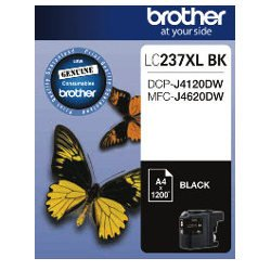 Brother LC237XL BK Black High Yield (Genuine)