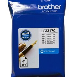 Brother LC3317C Cyan (Genuine)