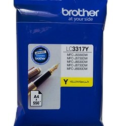 Brother LC3317Y Yellow (Genuine)