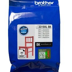 Brother LC3319XLBK Black High Yield (Genuine)
