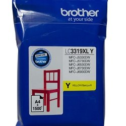 Brother LC3319XLY Yellow High Yield (Genuine)