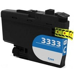 Compatible LC3333C Cyan High Yield