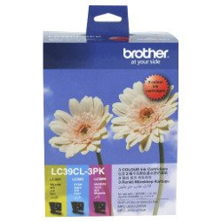 Brother LC39CL 3 Pack Bundle (Genuine)