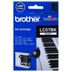 Brother LC57BK Black (Genuine)