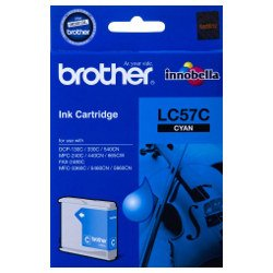 Brother LC57C Cyan (Genuine)