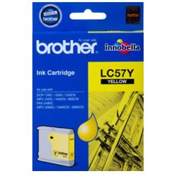 Brother LC57Y Yellow (Genuine)