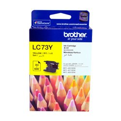 Brother LC73Y Yellow High Yield (Genuine)