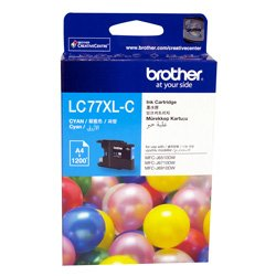 Brother LC77XL-C Cyan Extra High Yield (Genuine)