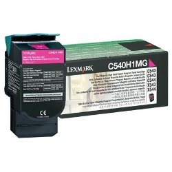 Lexmark C540H1MG Magenta High Yield Prebate (Genuine)