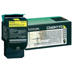 Lexmark C540H1YG Yellow High Yield Prebate (Genuine)