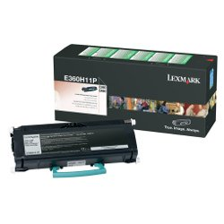 Lexmark E360H11P Black High Yield Prebate (Genuine)
