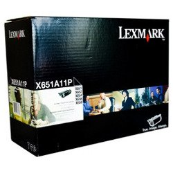 Lexmark X651A11P Black Prebate (Genuine)
