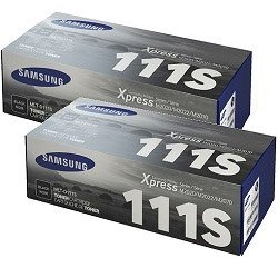 Samsung MLT-D111S 2 Pack Bundle (Genuine)