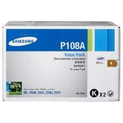 Samsung MLT-P108A 2 Pack Value Pack (Genuine)