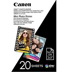 Canon MP-PP20 2 x 3 inch Photo Paper