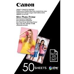 Canon MP-PP50 2 x 3 inch Photo Paper