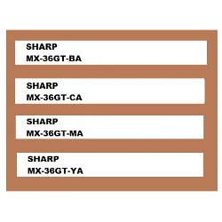 Sharp MX-36GT 4 Pack Bundle (Genuine)