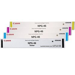 Canon NPG-46 4 Pack Bundle (GPR-31) (Genuine)