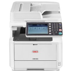 Oki MB492dn Multifunction Mono Laser Printer + Duplex