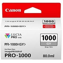 Canon PFI-1000GY Grey (Genuine)