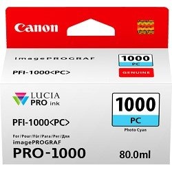 Canon PFI-1000PC Photo Cyan (Genuine)