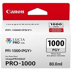 Canon PFI-1000PGY Photo Grey (Genuine)