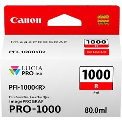 Canon PFI-1000R Red (Genuine)