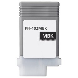 Compatible PFI-102MB Matt Black