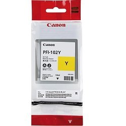 Canon PFI-102Y Yellow (Genuine)