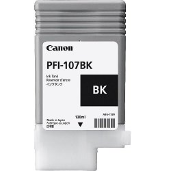 Canon PFI-107BK Black (Genuine)