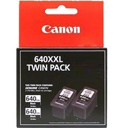 Canon PG-640XXL 2 Pack Value Pack (Genuine)