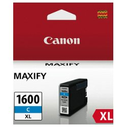 Canon PGI-1600XLC Cyan High Yield (Genuine)
