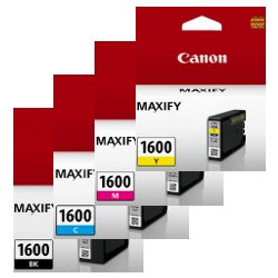 Canon PGI-1600 4 Pack Bundle (Genuine)