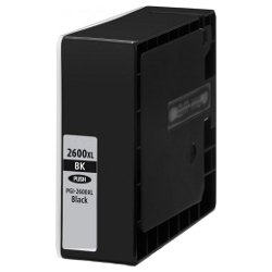 Compatible PGI-2600XLBK Black High Yield