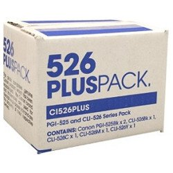 Canon PGI-525BK/CLI-526 6 Value Pack (Genuine)