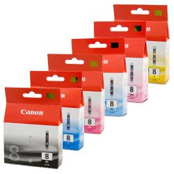Canon PGI-5/CLI-8 12 Pack Bundle (Genuine)