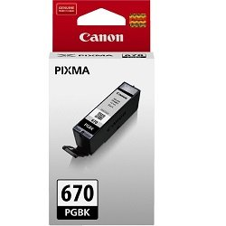 Canon PGI-670BK Black (Genuine)