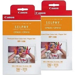 Canon RP-108 2 Pack Bundle (Genuine)