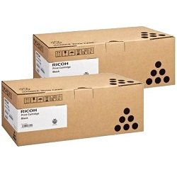 Ricoh 407337 2 Pack Bundle (Genuine)
