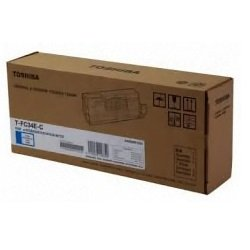 Toshiba T-FC34-C Cyan Toner Cartridge (Genuine)