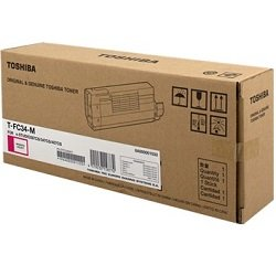 Toshiba T-FC34-M Magenta Toner Cartridge (Genuine)
