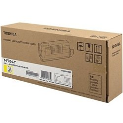 Toshiba T-FC34-Y Yellow Toner Cartridge (Genuine)