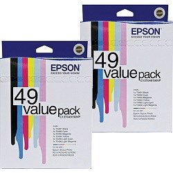 Epson T0491-6 12 Pack Bundle (Genuine)
