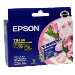 Epson T0496 Light Magenta (Genuine)