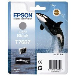 Epson T7607 Light Black (Genuine)