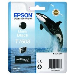 Epson T7608 Matte Black (Genuine)