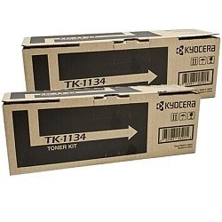 Kyocera TK-1134 2 Pack Bundle (Genuine)