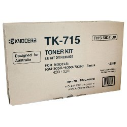Kyocera TK-715 Black (Genuine)