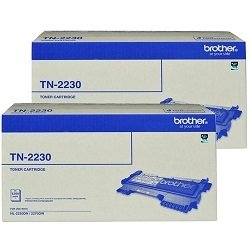 Brother TN-2330 2 Pack Bundle (Genuine)